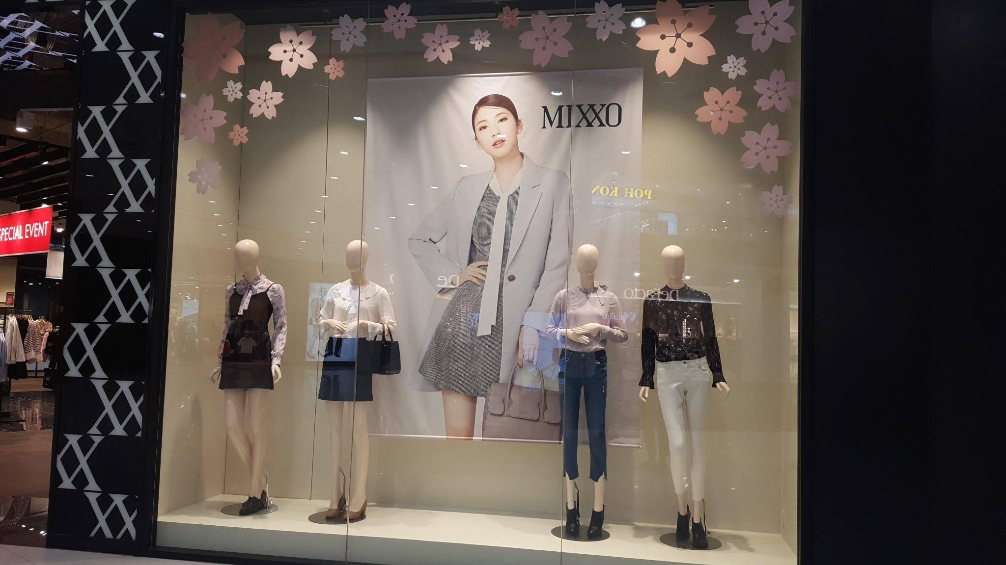 Mixxo Korea at Johor