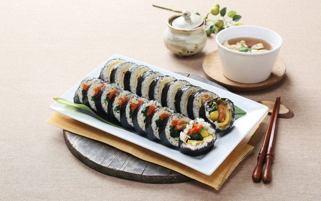 [Activity] Make a Gimbap (Korea rolling rice) !