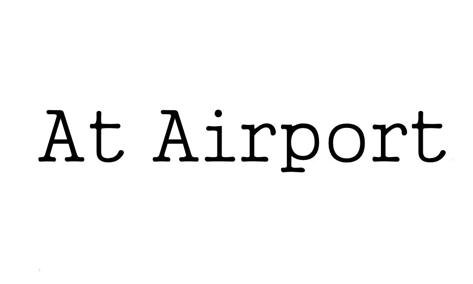 [K-Phrase] At Airport -1-